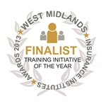 'Training Initiative of the Year' - West Midlands Insurance Institute