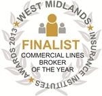 'Commercial Lines Broker of the Year' - West Midlands Insurance Institute Award