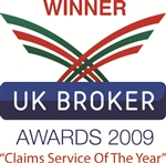 'Claims Service of The Year' - UK Broker Awards